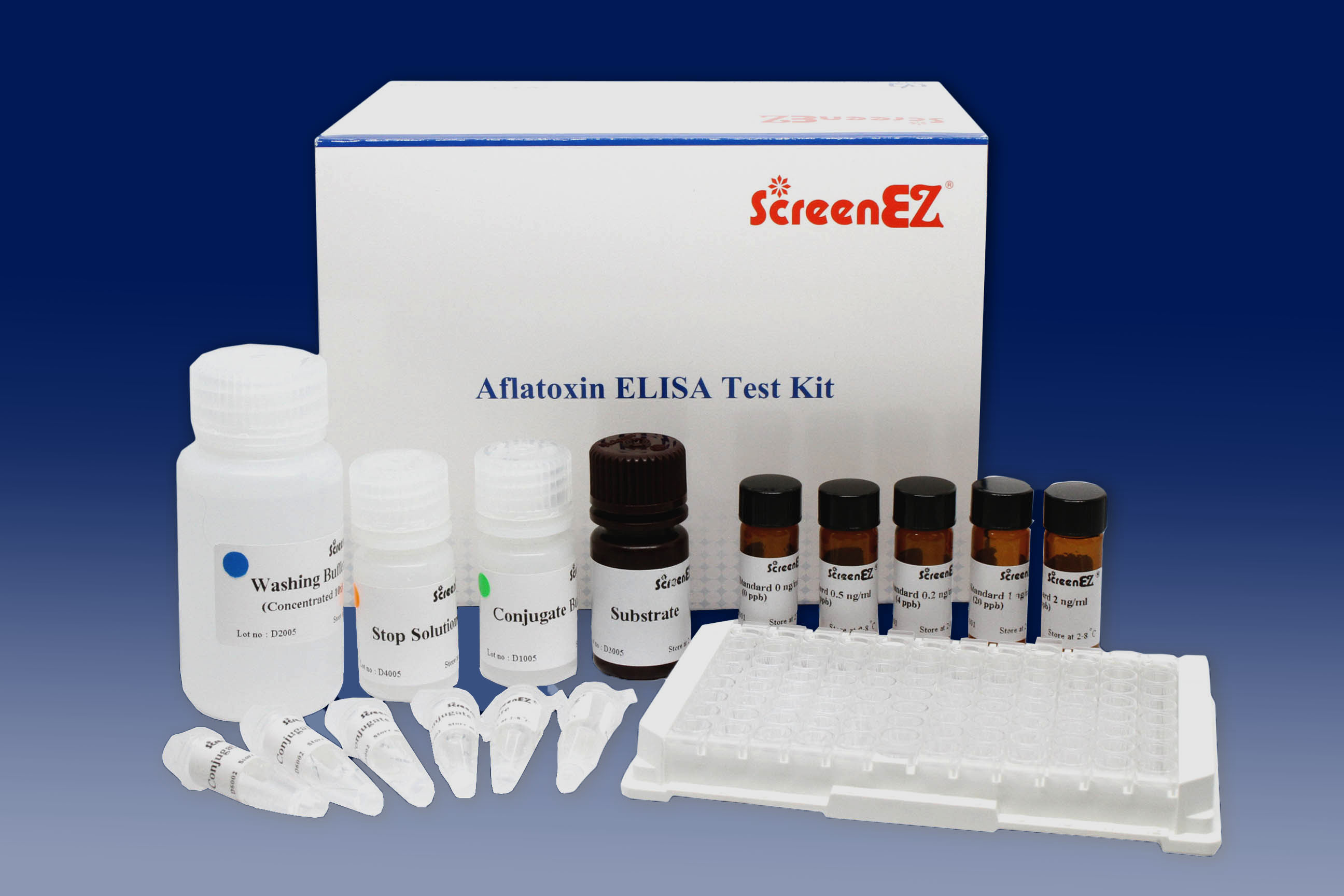 ScreenEZ Aflatoxin ELISA Test Kit